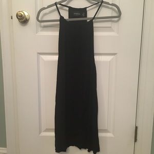 ASOS Semi-Open-Back Black Dress